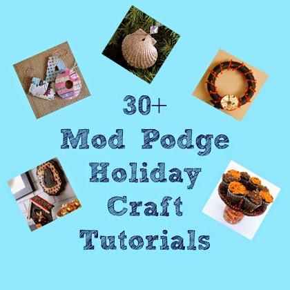 30+ Holiday Craft Tutorials