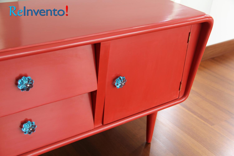 Vistoso Aparador Rojo Para La Venta De Los Muebles Molde - Muebles ...