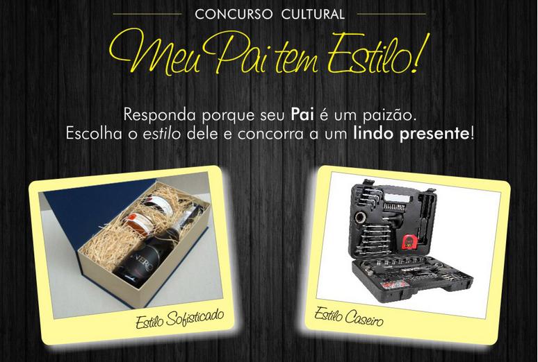 """Concurso cultural Naturalis - """"Meu pai tem estilo"""""""