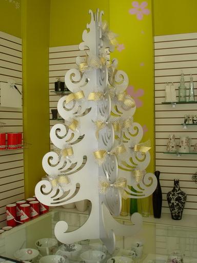 Marge Artesanato Arvore De Natal Em Mdf