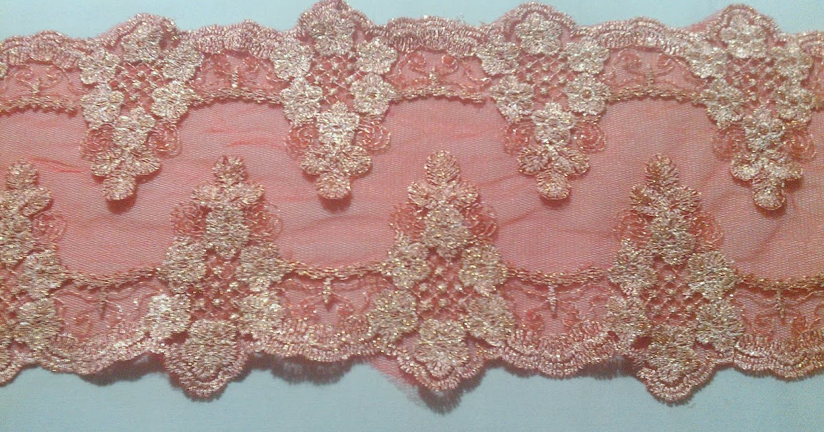 Zeera lily border lace murah for Border lace glam