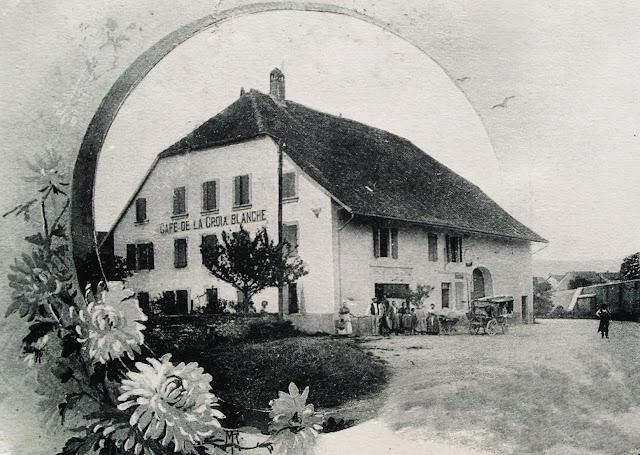 Histoire et histoires d 39 arnex sur orbe cartes postales les caf s d 39 - Le bureau croix blanche ...