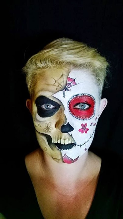 06-Nikki-Shelley-Halloween-Changing-Faces-Body-Paint-www-designstack-co
