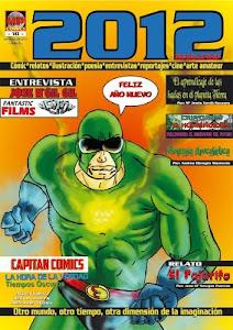 Colaboro con la revista de comics 2012 Magazine