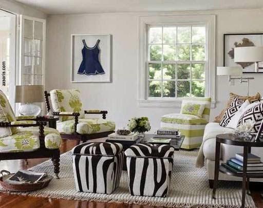 decoracao sala zebra : decoracao sala zebra:Zebra Living Room Decorating Ideas