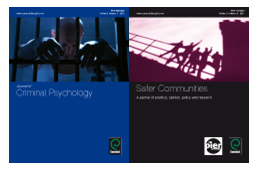 Images of front covers of Journal of Criminal Psychology and Safer Communities