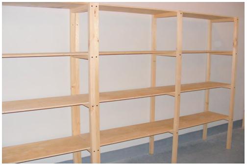 estantes para ba o de madera On madera para estantes