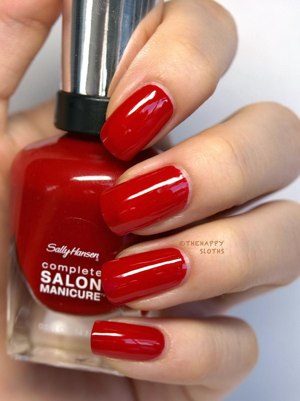 Sally hansen csmtko complete salon manicure nail polish for Salon manicure