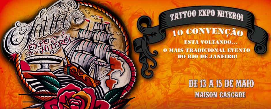 Participe da X Tattoo Expo na Maison Cascade