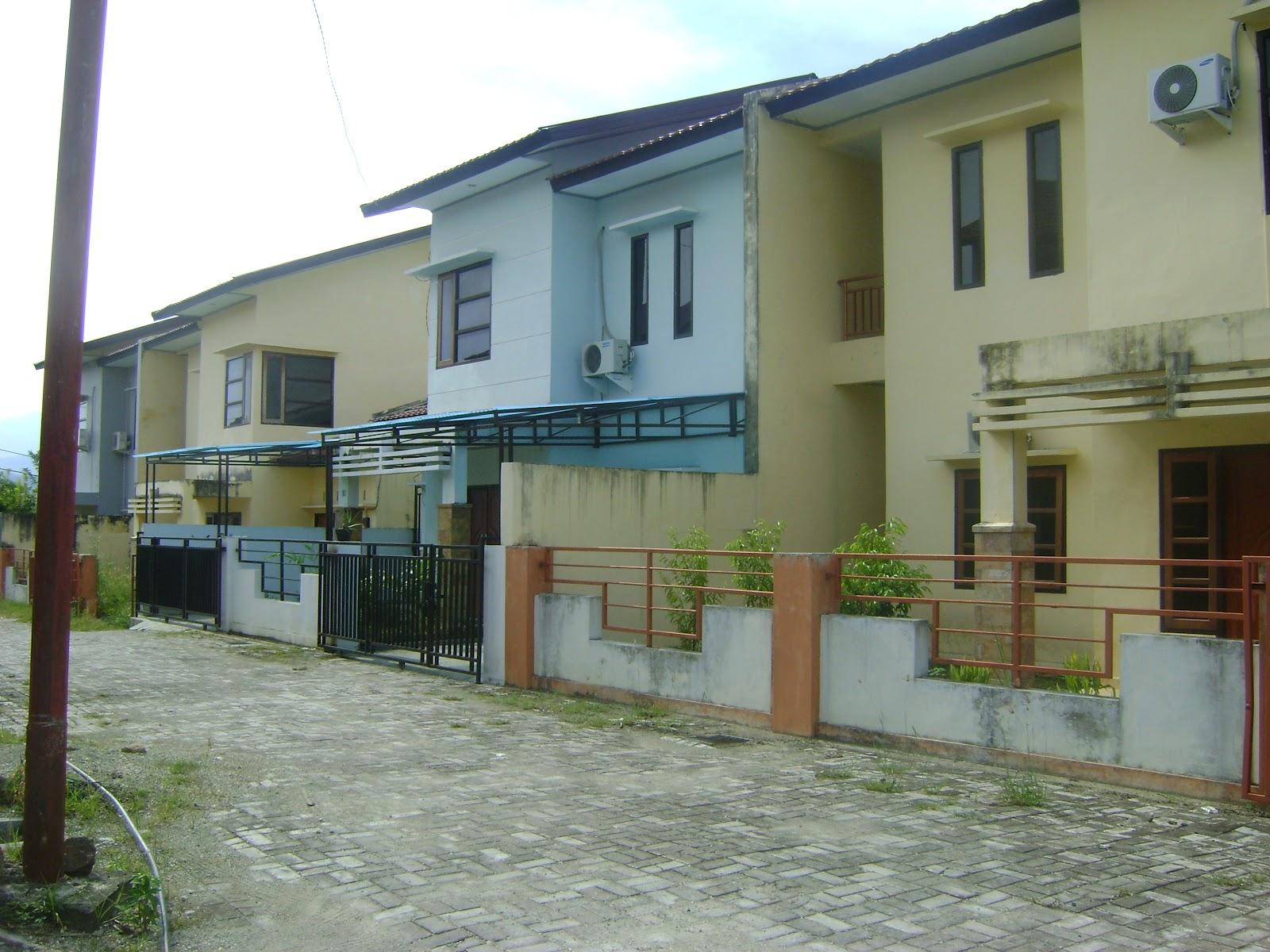 Kawasan perumahan yang baru dibangun di kawasan Abepura.