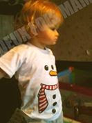 Tshirt enfant noel