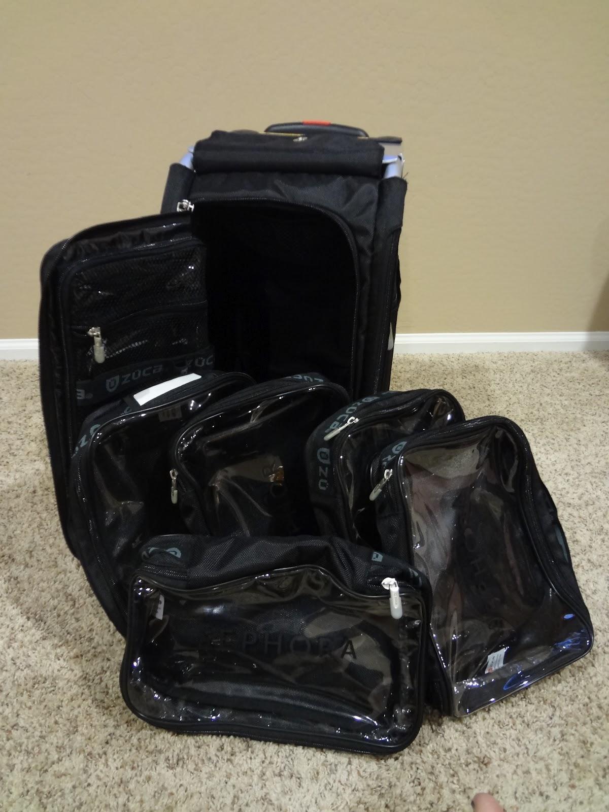 So Glam I Am New Zuca Bag Sephora Pro Rolling Bag