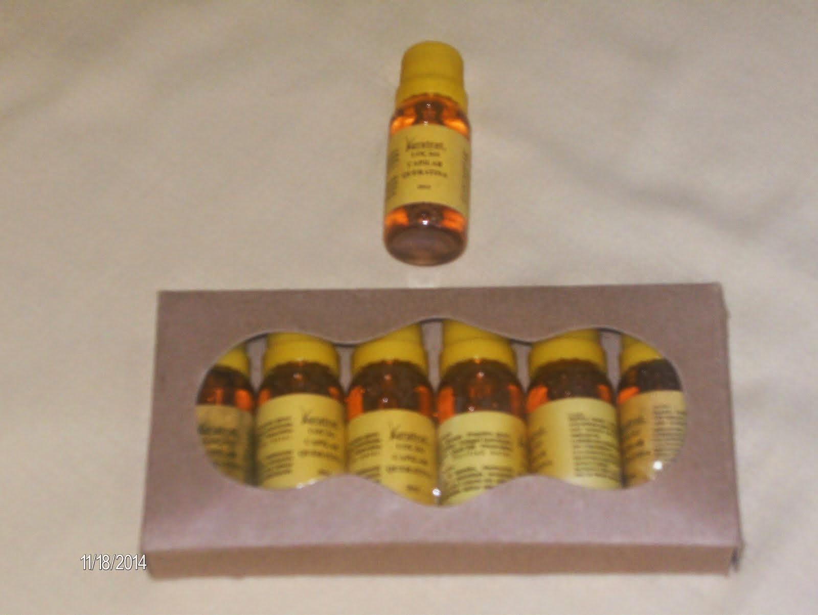 Queratina Hidrolisada caixa com 6 tubetes de 25 ml - Preço R$ 50,00