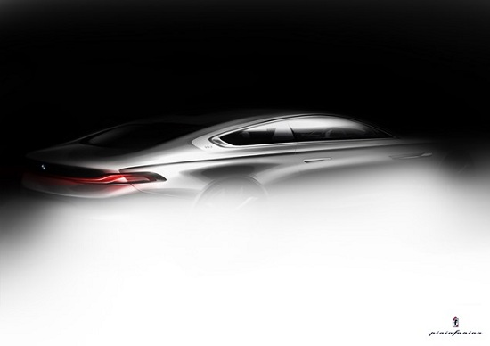 BMW Pininfarina Gran Lusso Coupe teaser photo