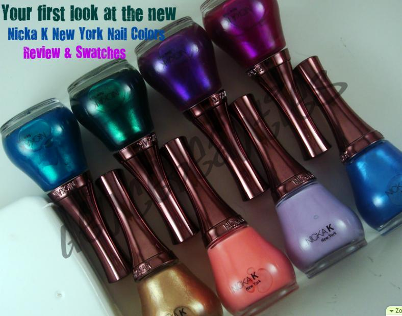 Deuce Beauties: Your first look: New Nicka K New York Nail Colors ...