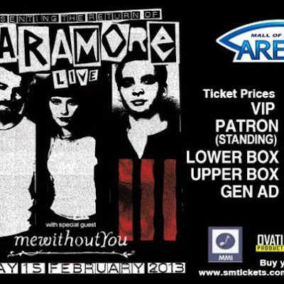 Paramore Live In Manila 2013