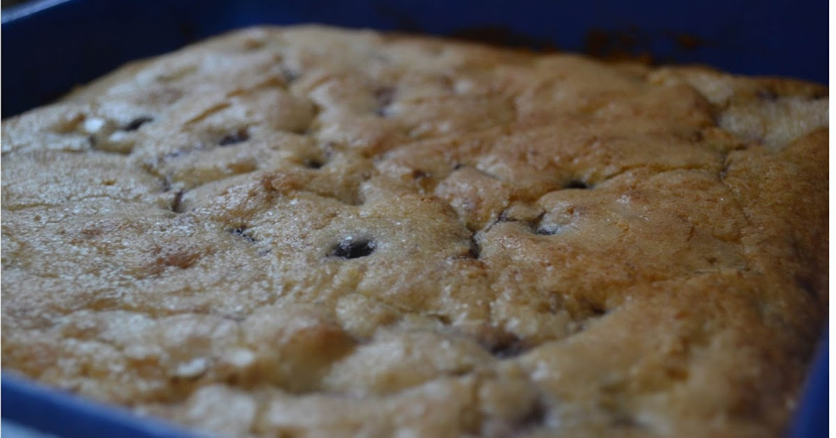 Making Miracles: Buttermilk-Blueberry Breakfast Cake