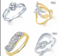 Buy Branded Gold & Silver Rhodium Rings for Him/Her at Rs.125 : Buy To Earn