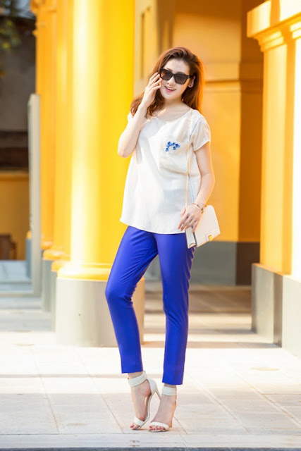 Tú Anh cho biết cô đang thử nghiệm nhiều kiểu mặc để tìm ra phong cách phù hợp với bản thân nhất. Tuy nhiên, dù theo kiểu nào, cô muốn hướng đến sự trẻ trung đúng lứa tuổi.