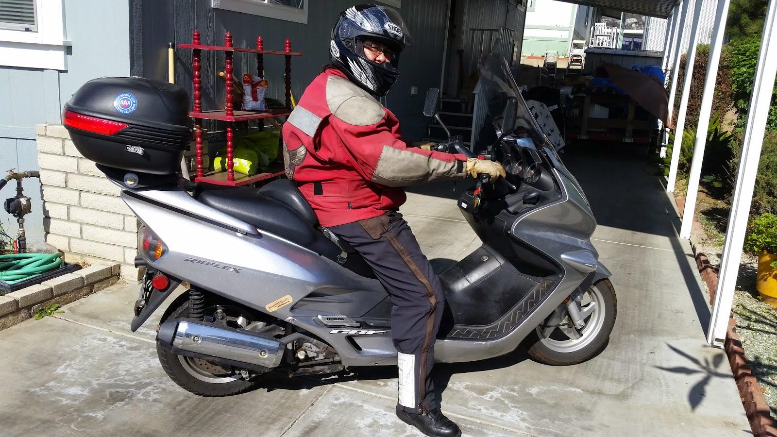 Two-Wheeled Tourist: Honda Reflex vs. CA Freeways - Life lessons ...