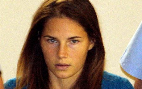 amanda knox bathroom