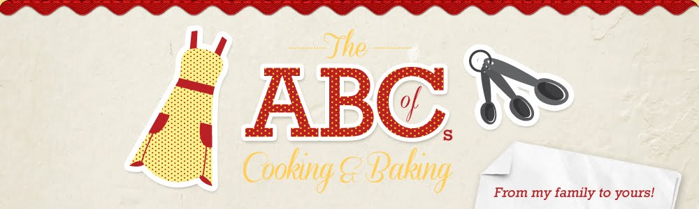 The ABCs of cooking & baking, from my family to yours.