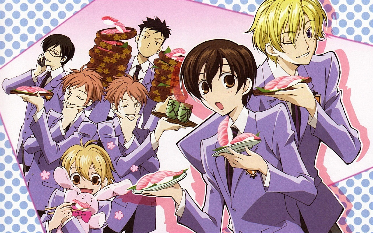 Ouran Highschool Host Club Crest Anime Japanese ...