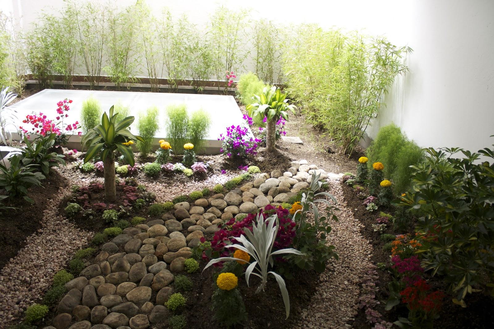 Lude elements flores huertos jardiner a y m s dise o - Diseno de jardines interiores ...