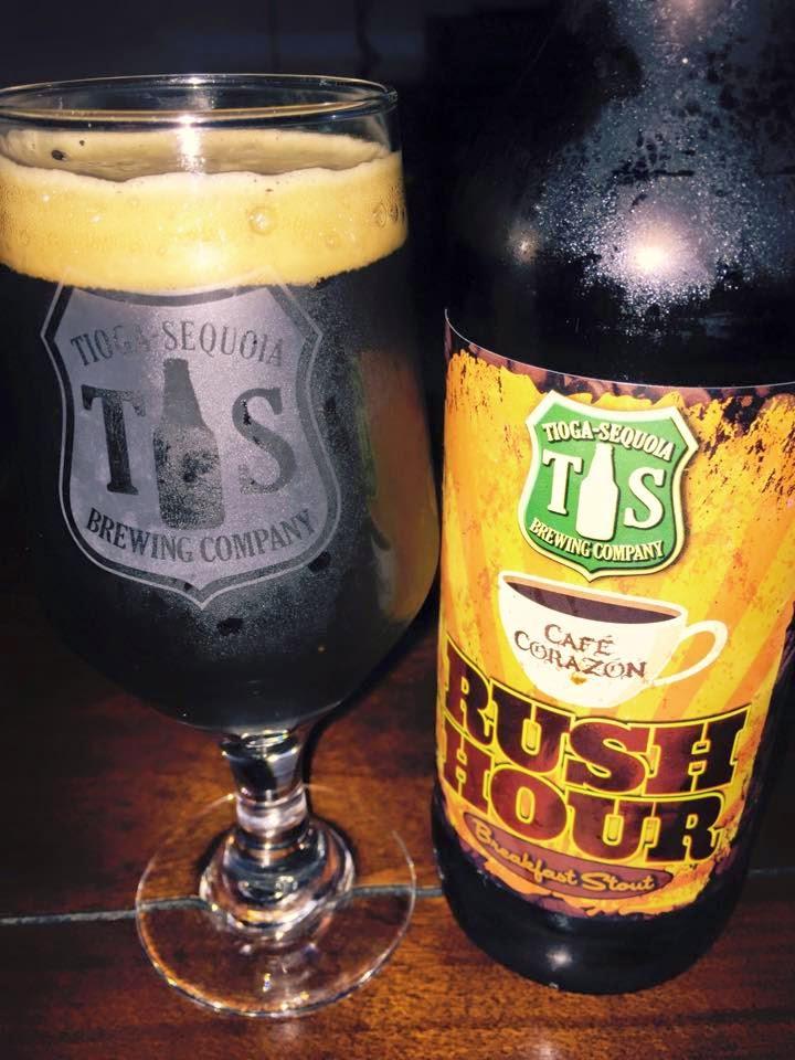 Tioga Sequoia Rush Hour Coffee Stout 4