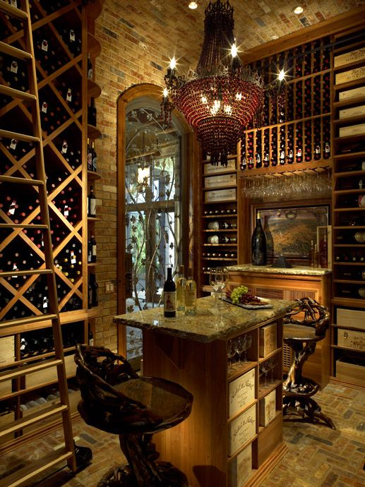 Wooden wine boxes wine crates the 9 best wine room for Luxury home wine cellars