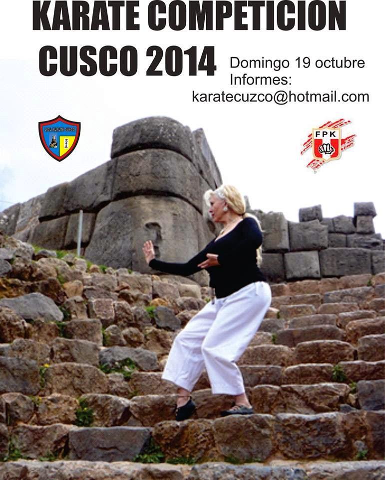 CAMPEONATO  DE KARATE   Karate Competicion cusco 2014