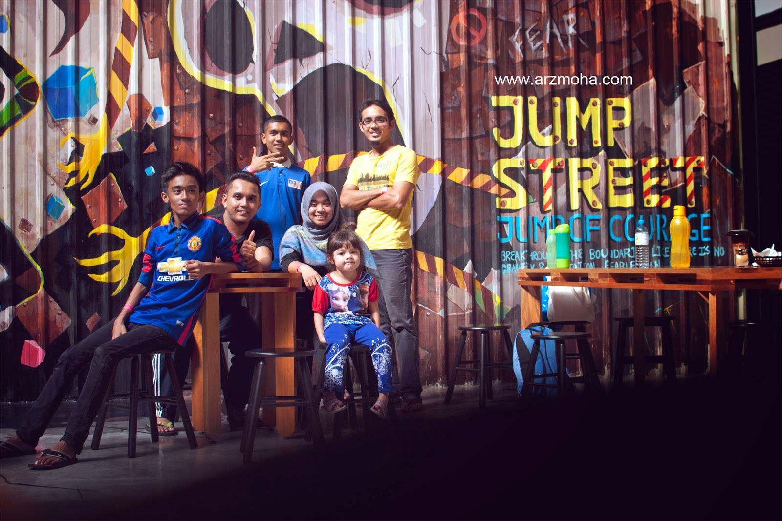 Penang street jump trampoline park, Jump Street, Lompat, gambar cantik, arzmoha, awesome place, penang,