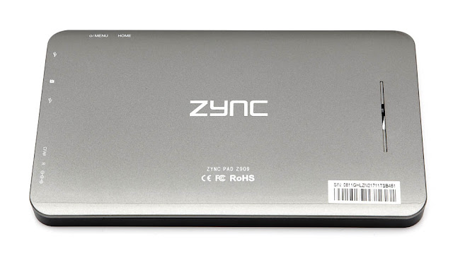 ZYNC Z909 and ZYNC Z900 Tablet PC Price Review in India