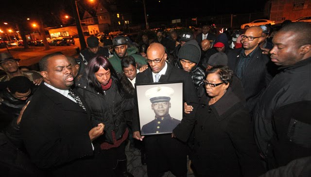 Trayvon was not the only AA shot in the chest, Mr. Chamberlain same fate and no arrest