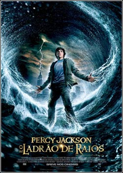 Download - Percy Jackson E O Ladrão De Raios DVDRip - AVI - Dual Áudio