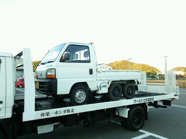 Honda Acty Crawler, kei truck, mała ciężarówka
