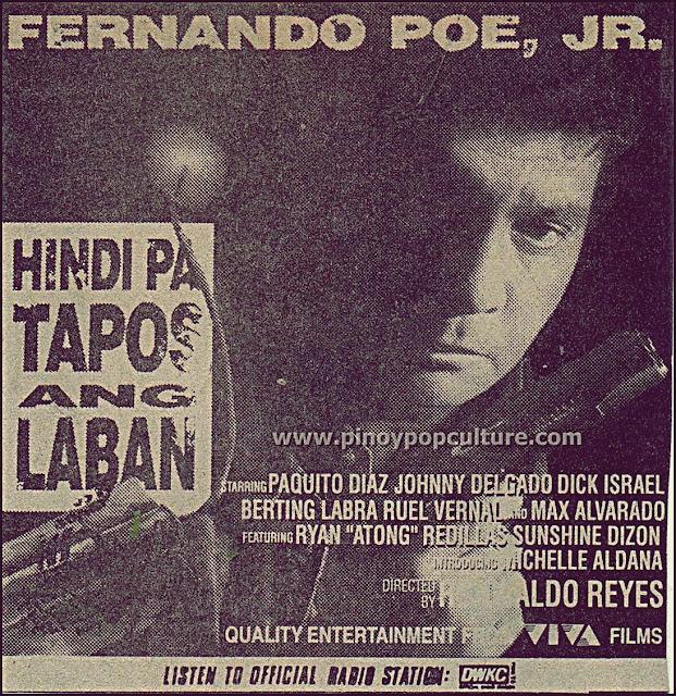 Hindi Pa Tapos ang Laban, Fernando Poe Jr., FPJ