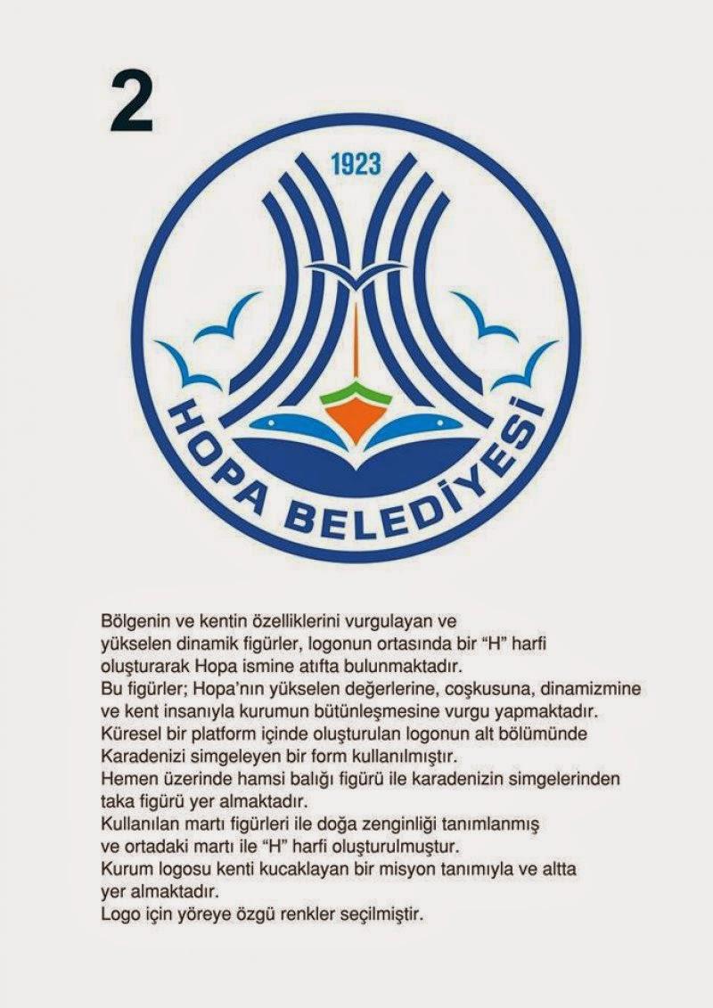 Hopa Belediyesi Logo Yarışması Sonuçlandı