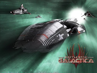 #10 Battlestar Galactica Wallpaper