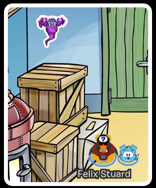 Nuevo Pin de Fantasma en Club Penguin
