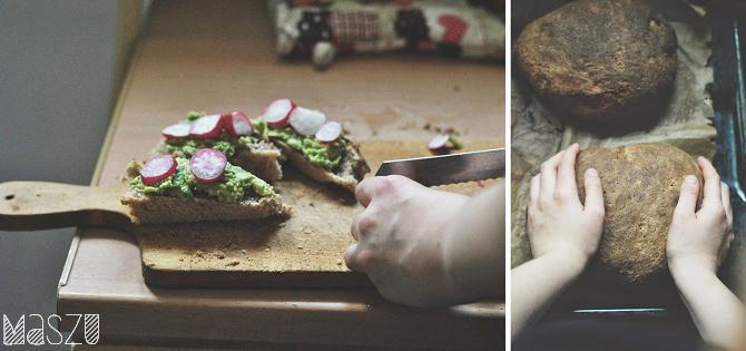 chleb ciemny kanapki