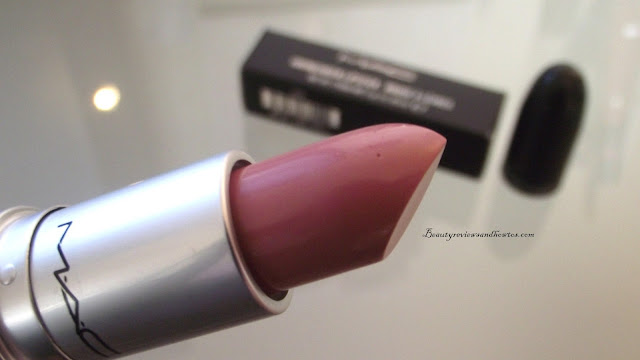 MAC Cremesheen Lipstick Review - Creme Cup