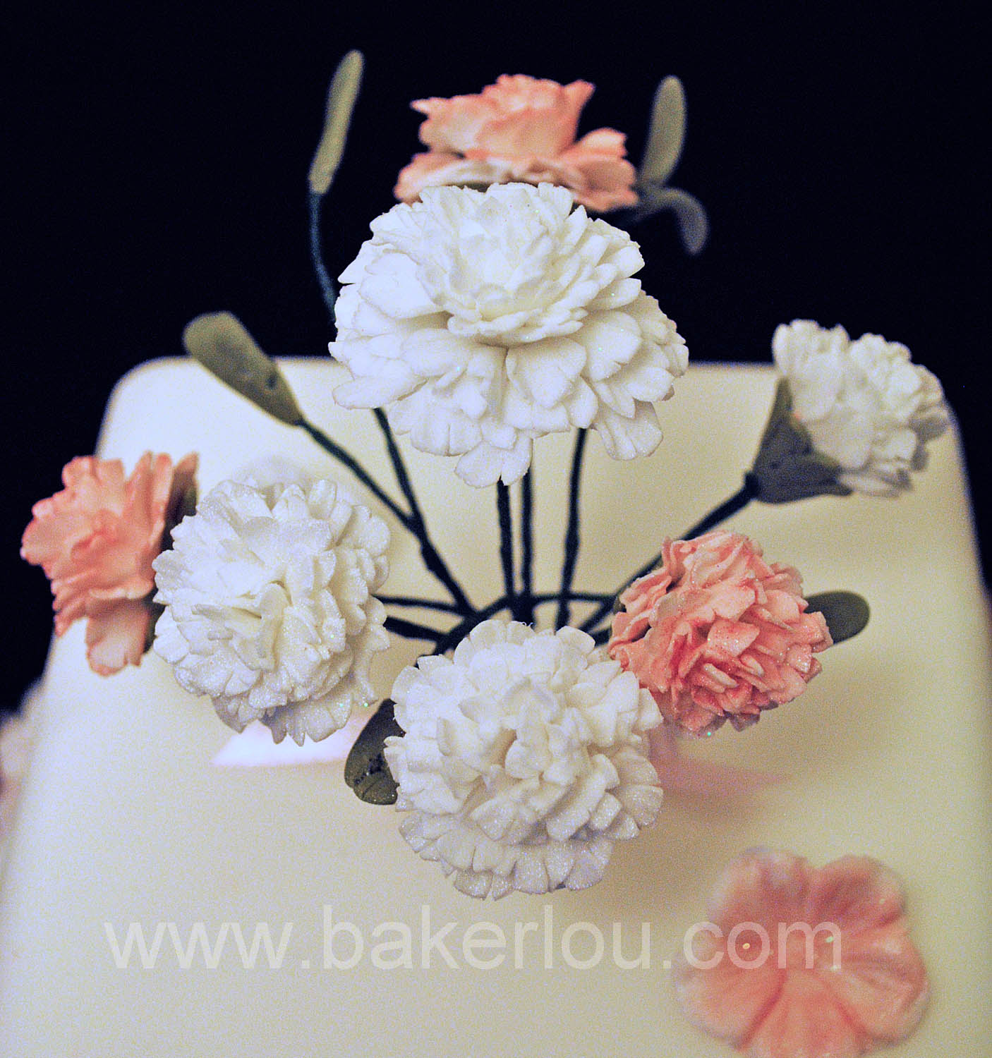 Bakerlou How To Make Sugar Carnations Step By Step Tutorial