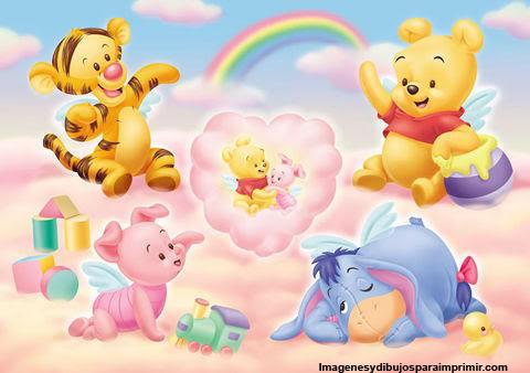 Pooh bebé y sus amigos bebé - Imagui