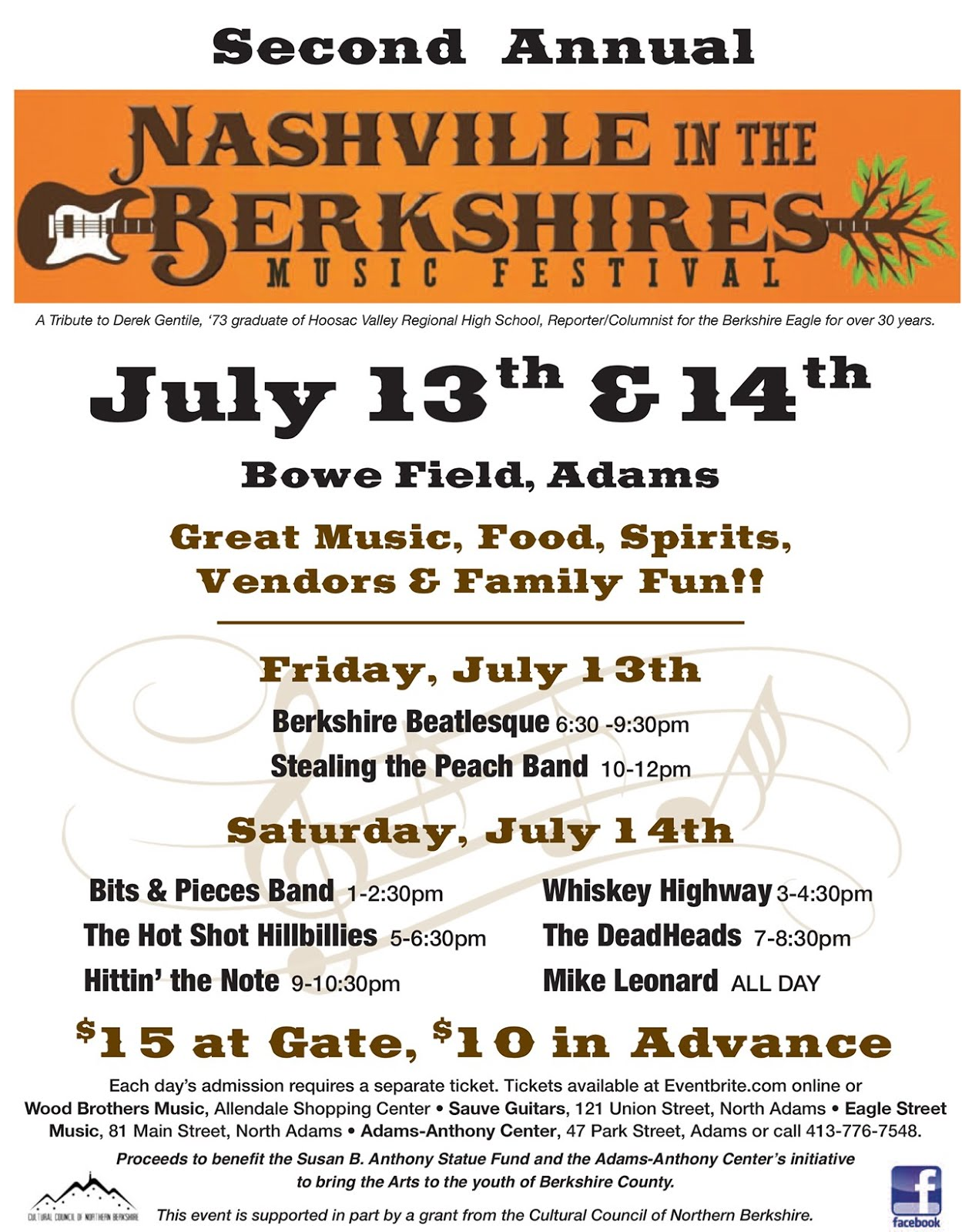 Great Music Coming To The Berkshires!