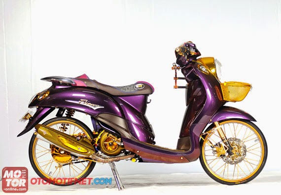 referensi modifikasi yamaha mio fino sporty