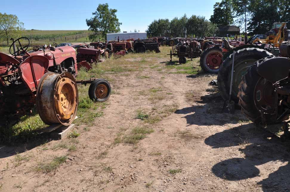 Tractor Equipment Salvage Yards : Lawn mower salvage yards garden tractor