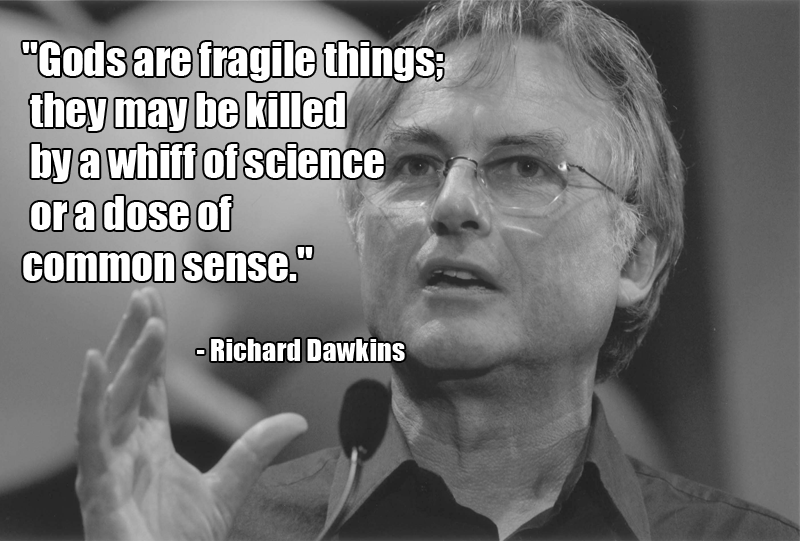 Richard Dawkins Quotes About God Quotesgram