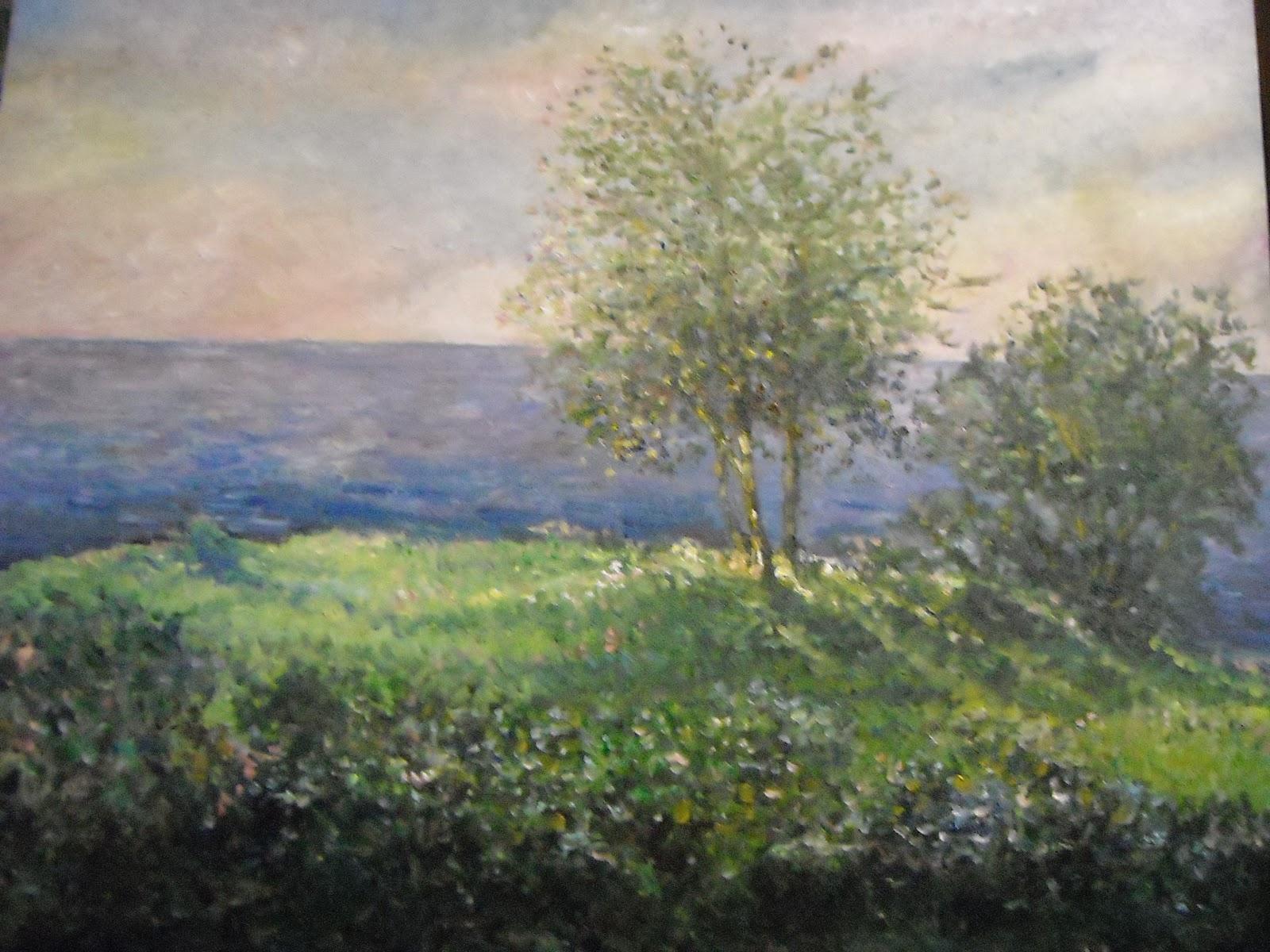 Arte e Colori: paesaggio dipinto ad olio