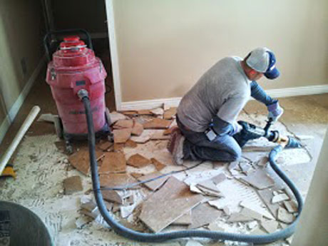 Phoenix Tile Flooring Removal Dust Free